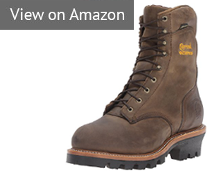 "Chippewa Men's 9"" Waterproof Insulated Steel-Toe"