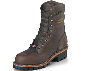 Chippewa Men's Logger Waterproof