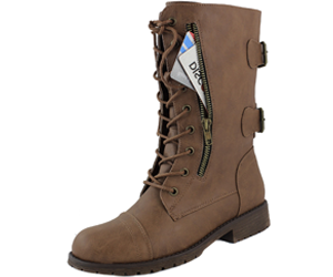 DailyShoes Women's Military