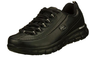 Skechers for Work Women's Sure Track Trickel Slip Resistant