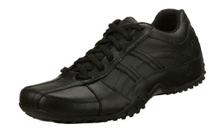 Skechers for Work Rockland Systemic Slip Resistant Lace-Up Shoe