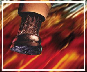 Wildland fire boots